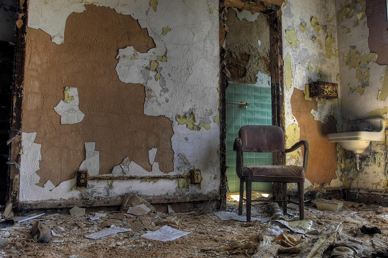 Abandoned Asylum: Lonely Chair
