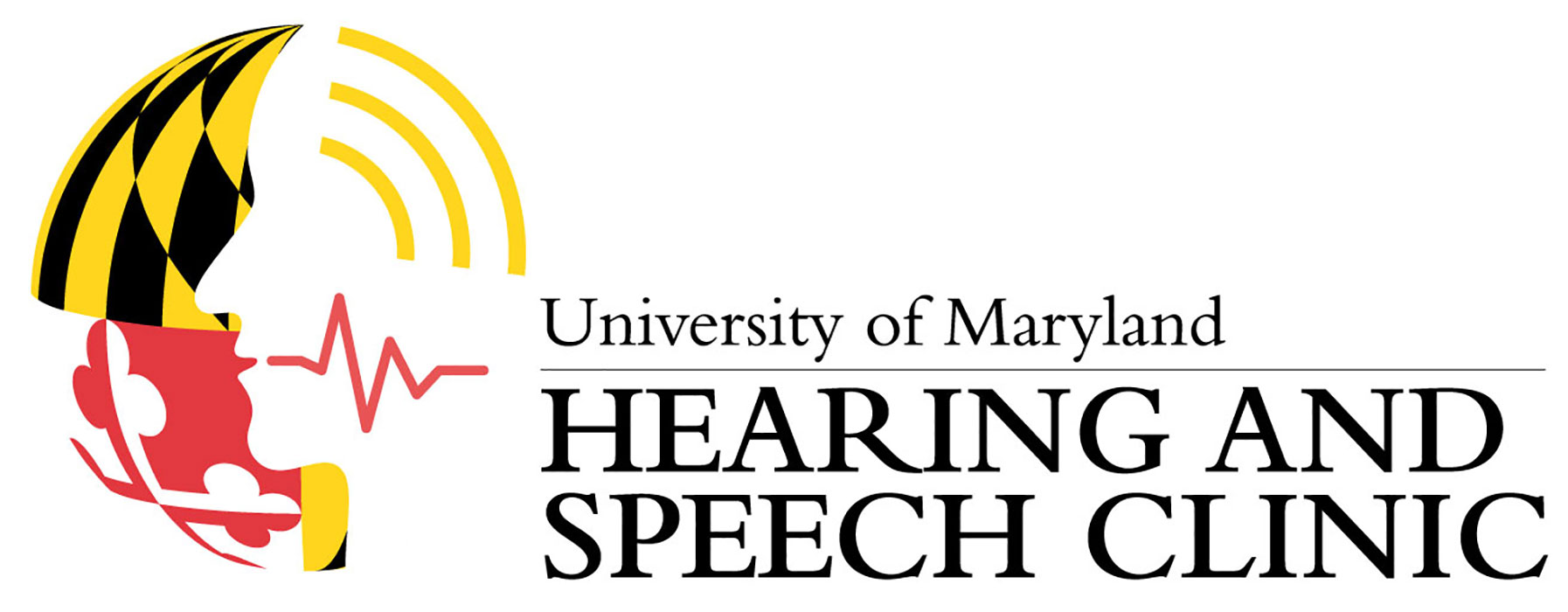 University of Maryland Hearing and Speech Clinic Logo