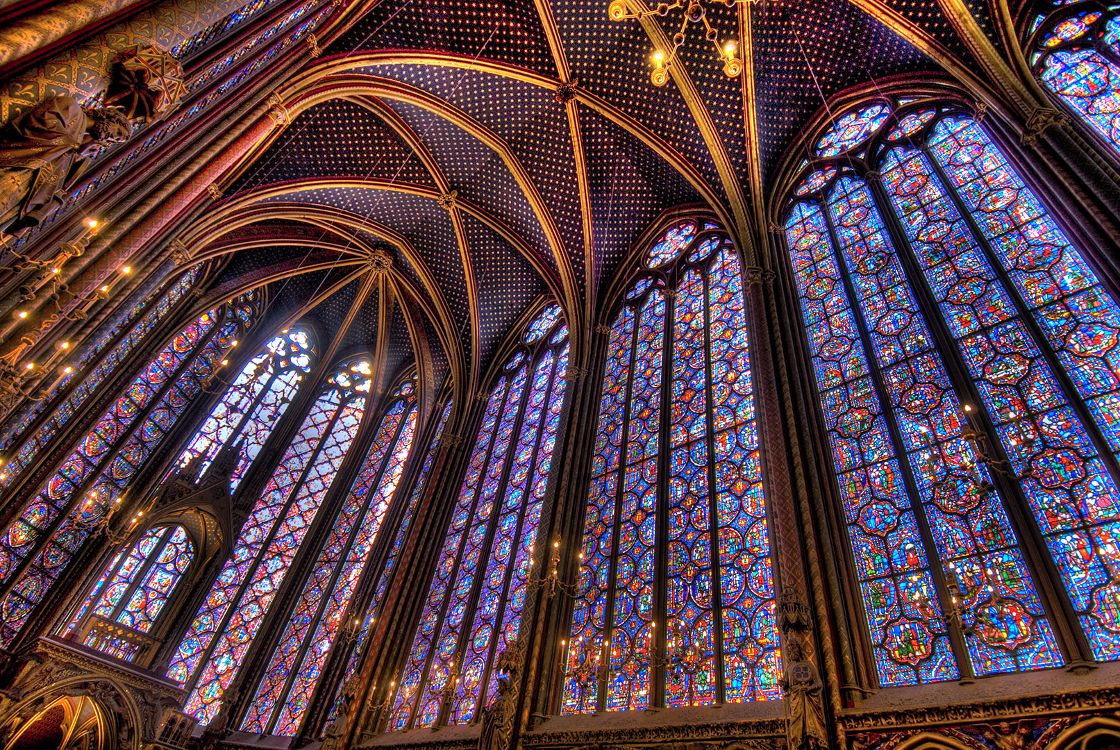 Paris: Sainte-Chapelle Stained Glass