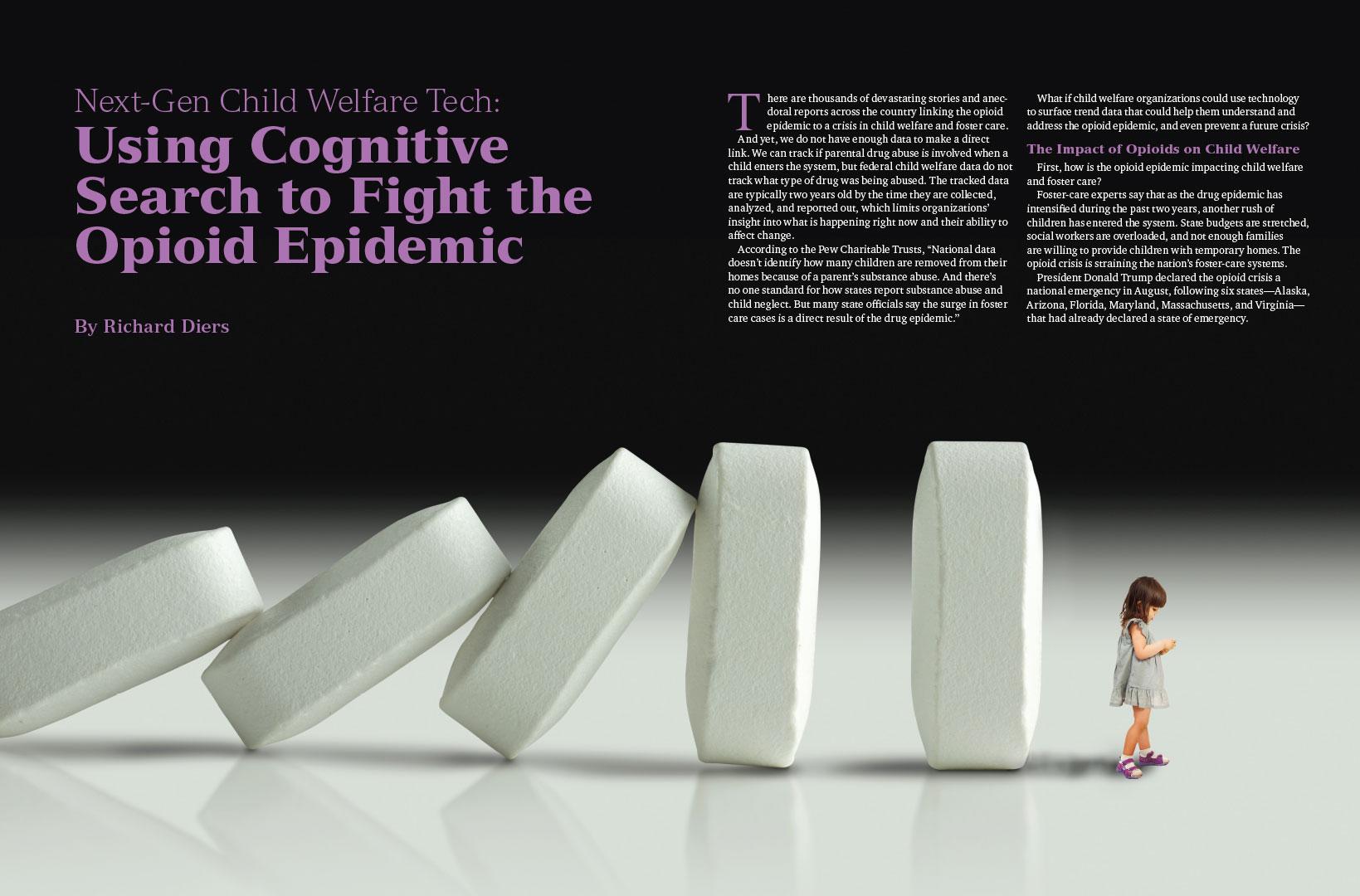 Opioid Magazine Spread