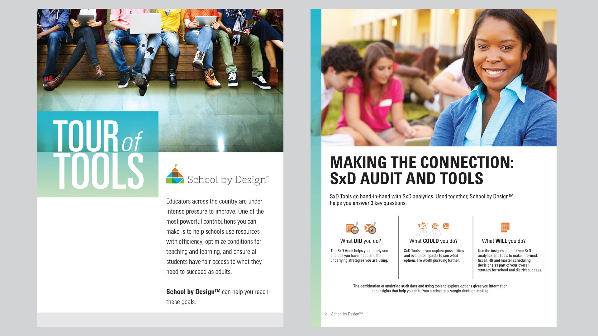 School by Design: Tour of Tools Flyer