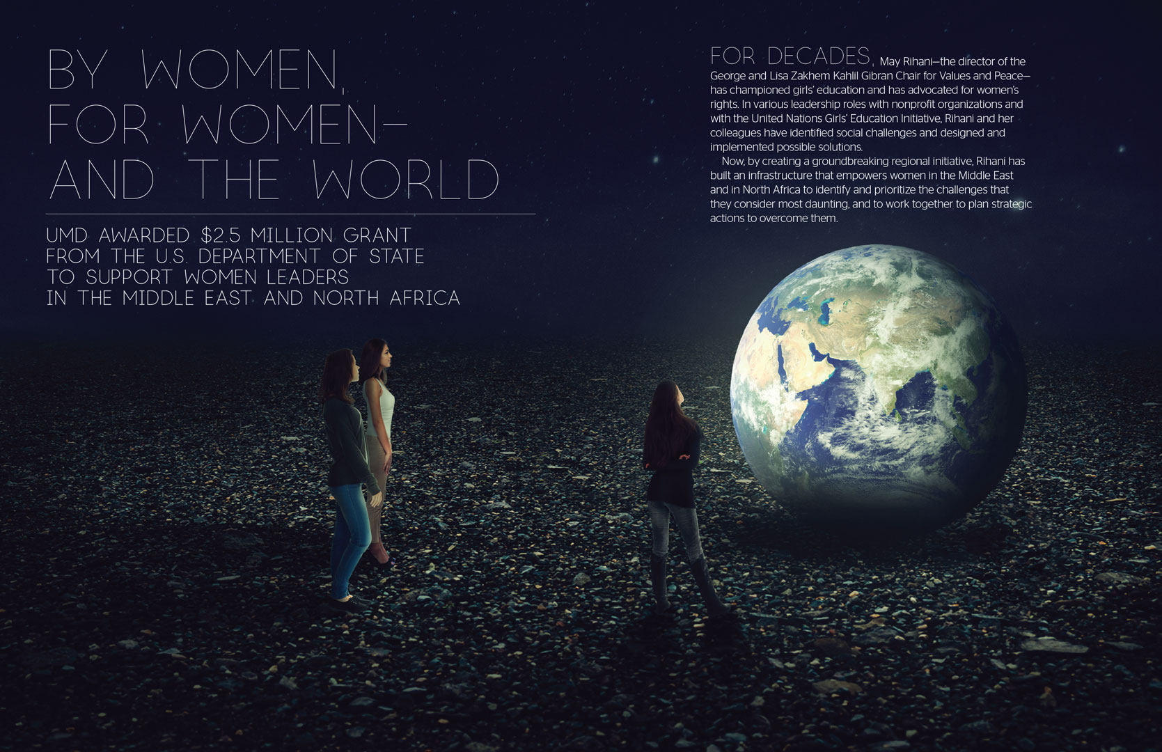 By Women, For Women—And the World Magazine Spread
